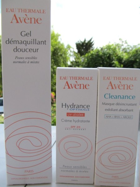 Avene nettoyant hydratant exfoliant