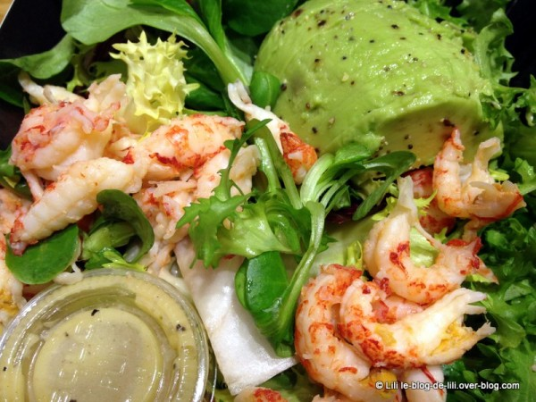 PRET A MANGER marbeuf salade ecrevisses 2