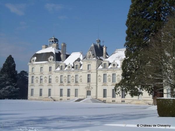 Cheverny-sous-la-neige-cChateau-de-Cheverny.JPG