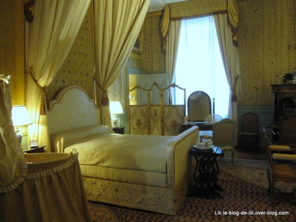 Une chambre au château de Cheverny