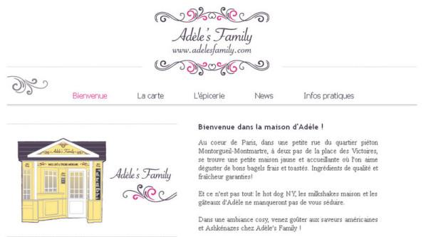 site Adele s family