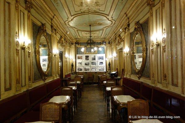Venise vitrines Florian cafe