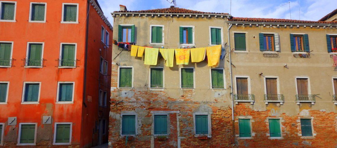 Les canaux de Venise en janvier