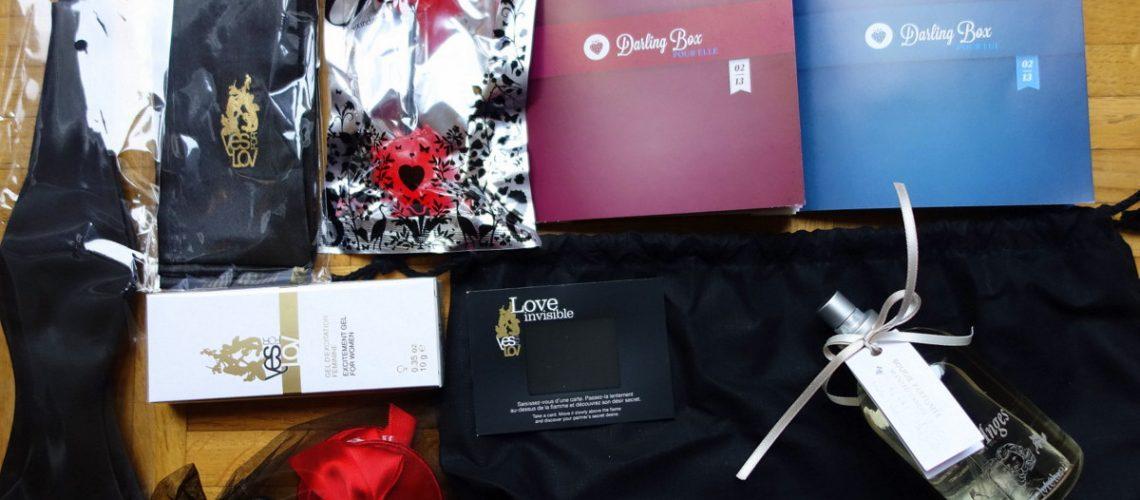 La Darling box, une box pour couples