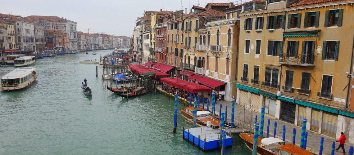 Le Rialto à Venise, la ville des amoureux