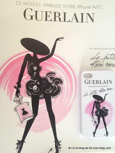 Une chouette coque iPhone Guerlain en cadeau avec le Glamour de mai
