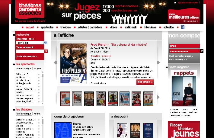 Les Théâtres Parisiens Associés ont la pièce de théâtre qu'il vous faut