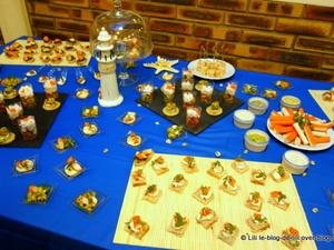 La soirée surimi : le buffet