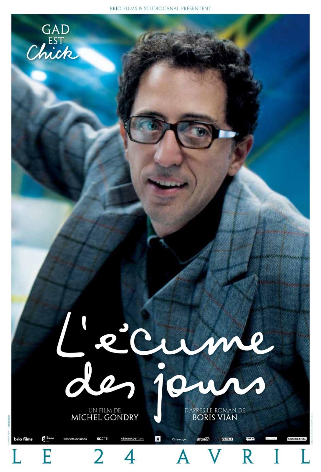 """""""L'écume des jours"""" sort au ciné le 24 avril !"""