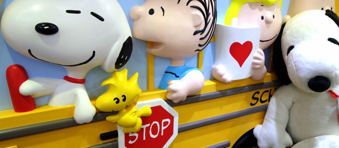 En route avec Snoopy à Tokyo
