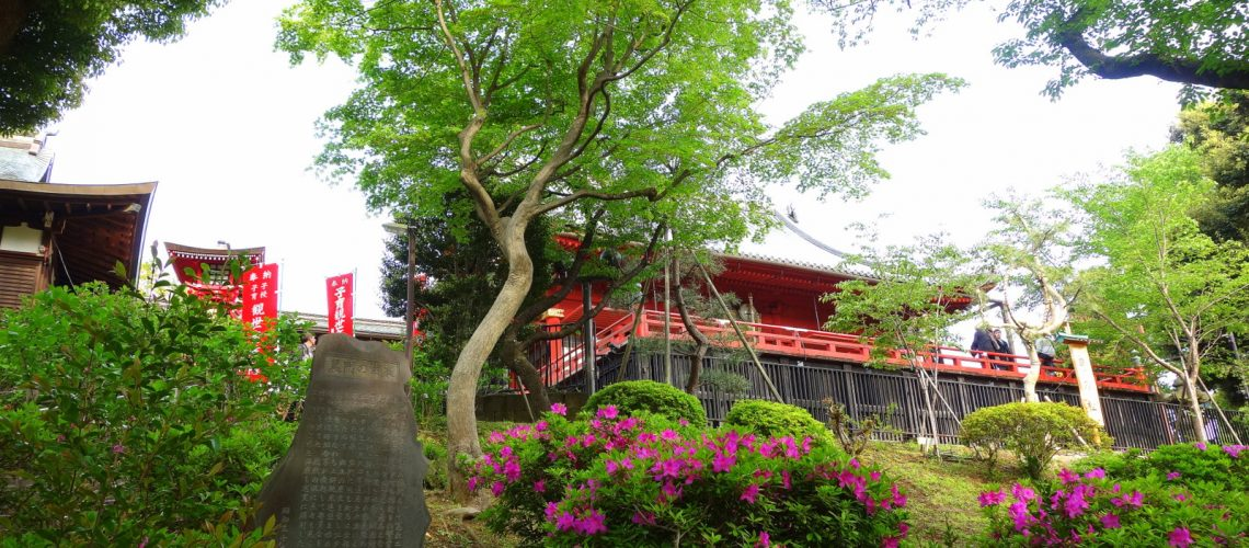 Un temple à Ueno, Tokyo, Japon