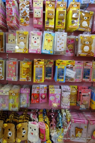 Hello Kitty, Rilakkuma... le dernier étage était mon préféré !