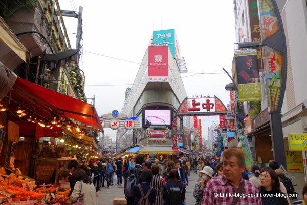 Tokyo : le parc de Ueno et le marché Ameya Yokocho