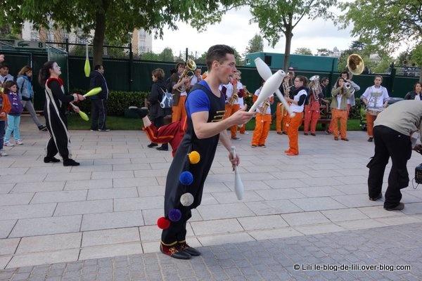 La journée des enfants de Roland Garros, c'est de plus en plus le cirque !