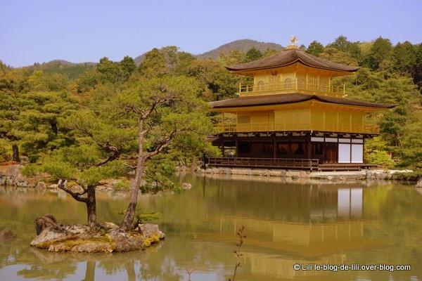 Une merveille à Kyoto : Kinkaku-ji, le temple du Pavillon d'or