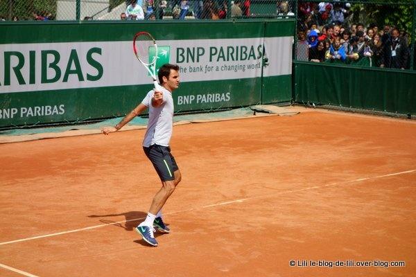 Roger Federer, l'homme qui concentrait la foule