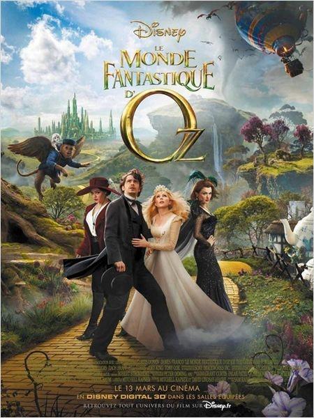 Le Monde fantastique d'Oz, sorti le 13 mai 2013 en France