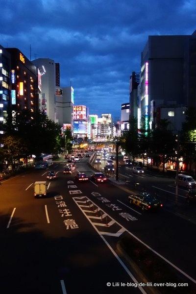 Tokyo, Shinjuku de nuit