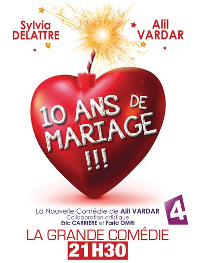 """Au théâtre : """"10 ans de mariage"""" m'a un peu déçue"""