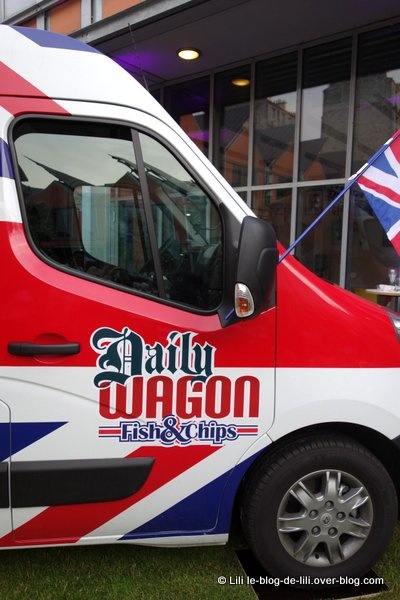 Food truck : le Dailywagon fish & chips débarque dans les rues de Paris