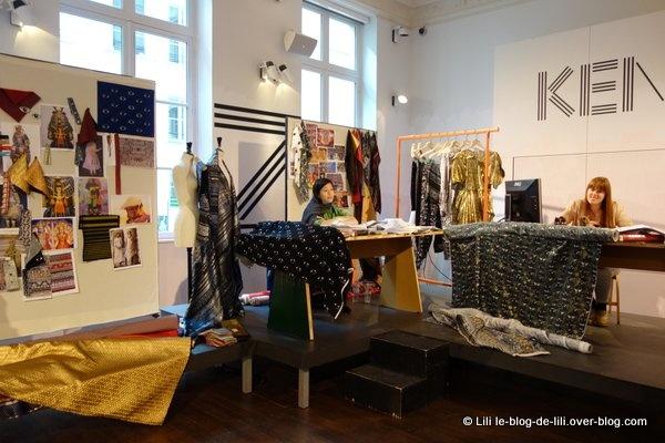Visite des ateliers de couture Kenzo