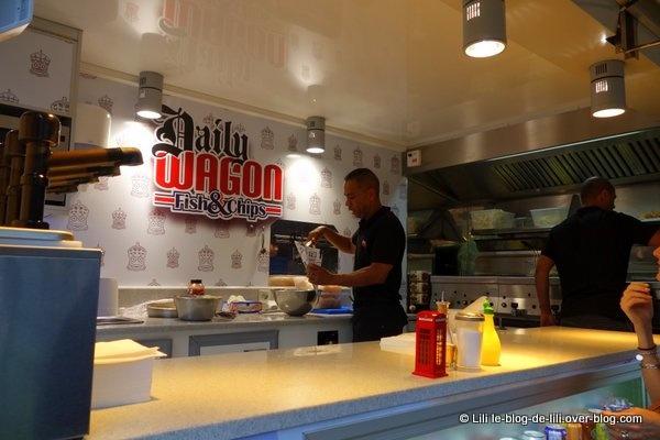 Food truck : le Dailywagon fish & chips débarque dans les rues de Paris