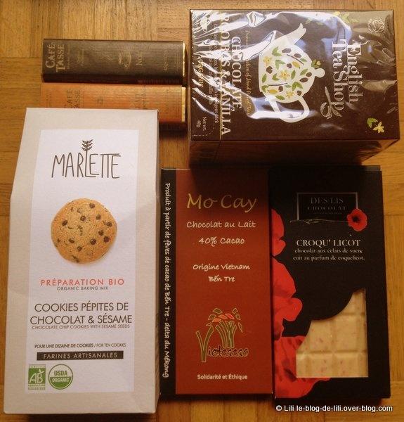 Chocofoliz : le coffret plaisir d'avril 2013