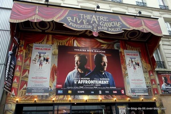 L'Affrontement, une pièce pas si religieuse à l'affiche du théâtre Rive Gauche