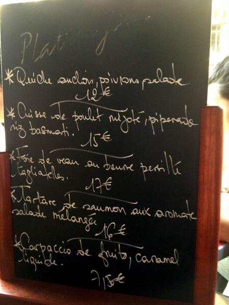 Où manger une salade à Paris : le bistrot d'Edmond