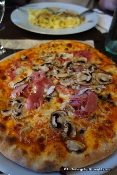 La halte de Chaponval : manger une pizza en 2h, à Auvers-sur-Oise