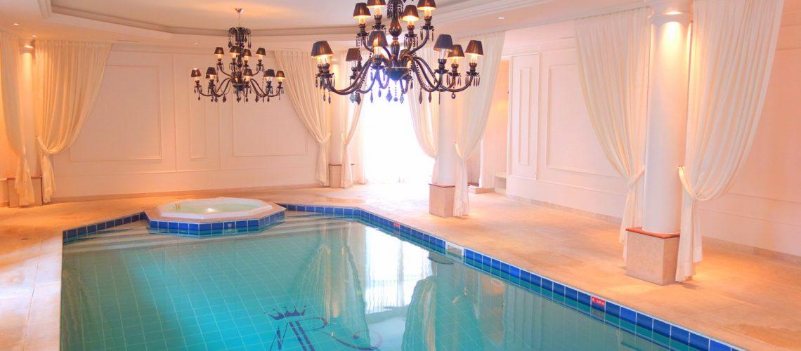 Le spa du château hôtel Mont Royal à Chantilly