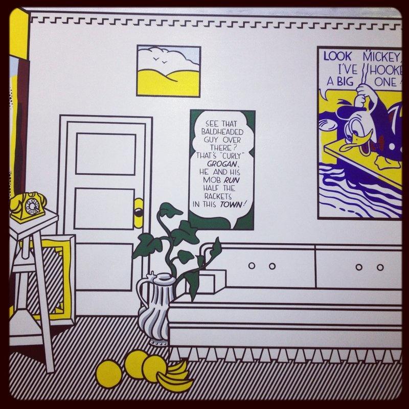 La rétrospective Roy Lichtenstein au centre Pompidou