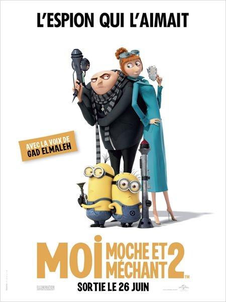 """""""Moi, moche et méchant 2"""" : un amour de film !"""
