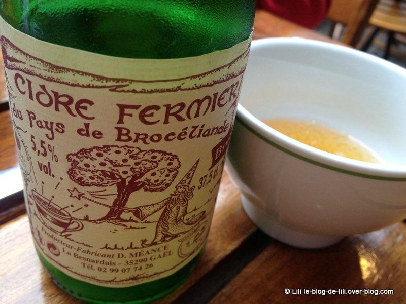 Déjeuner à la crêperie la Touline, à Saint-Malo