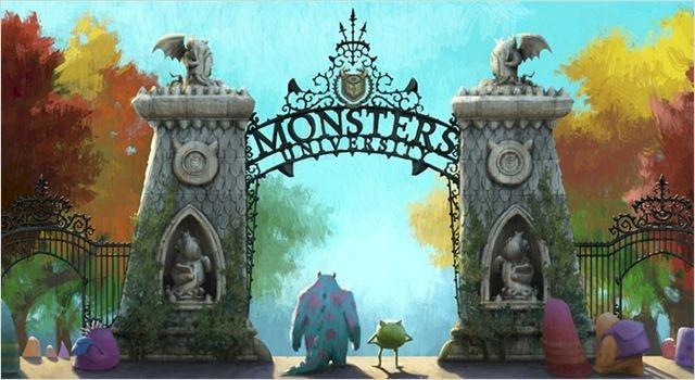 Monstres et Cie : vers l'école des monstres