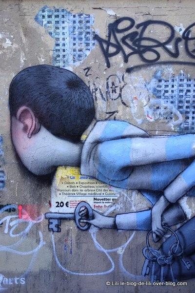 Seth fait des merveilles sur les murs des 5e et 13e arrondissements parisiens