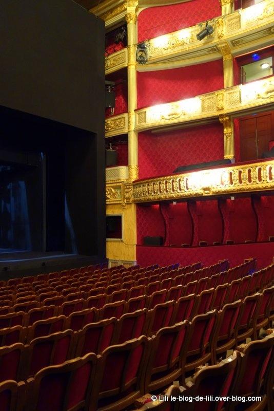 Visite du théâtre de l'Odéon pendant les journées du patrimoine