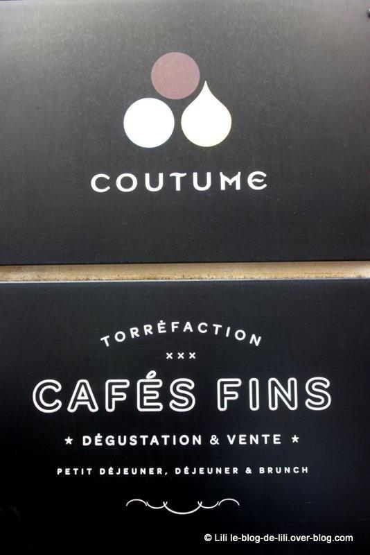 Où bruncher à Paris (33) : Coutume café