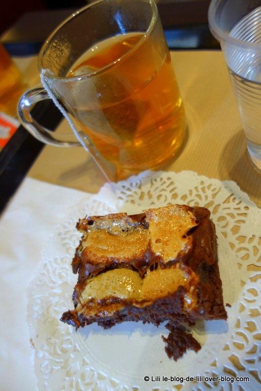 Oh mon cake ! mais quel brownie chocolat-guimauve divin !
