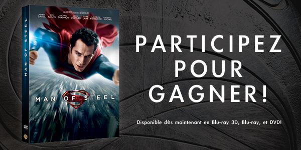 """[Concours] Gagnez un DVD de """"Man of Steel"""""""