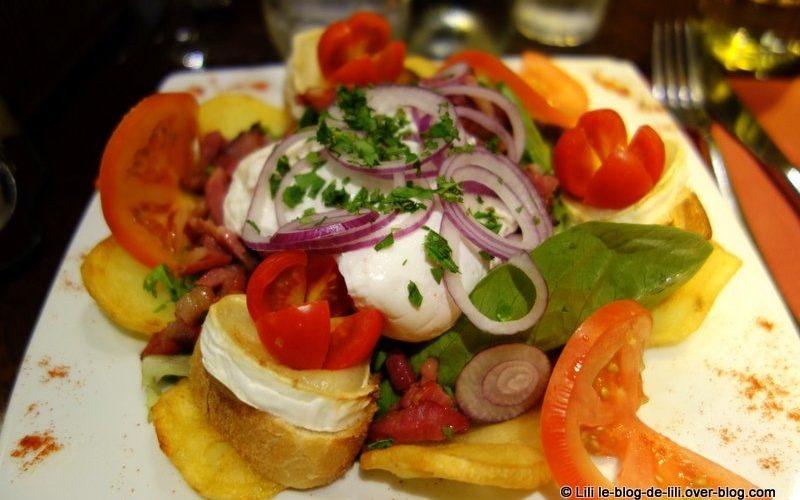 O Manger Une Salade Paris Le Nazir Montmartre Le