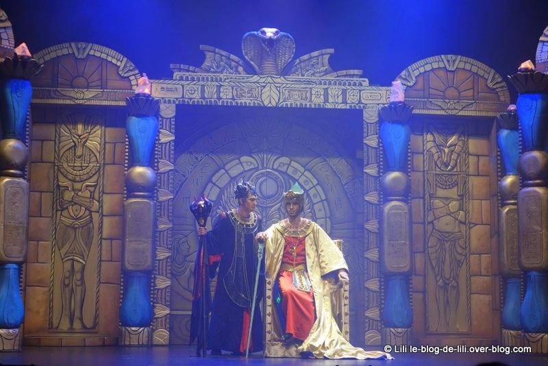 """""""Kid manoir 2, la malédiction du pharaon"""" : la comédie musicale"""