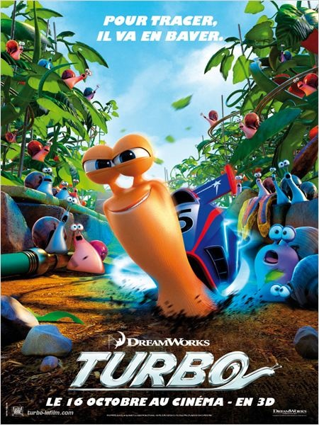"""Turbo"" : un escargot fou de vitesse au cinéma"