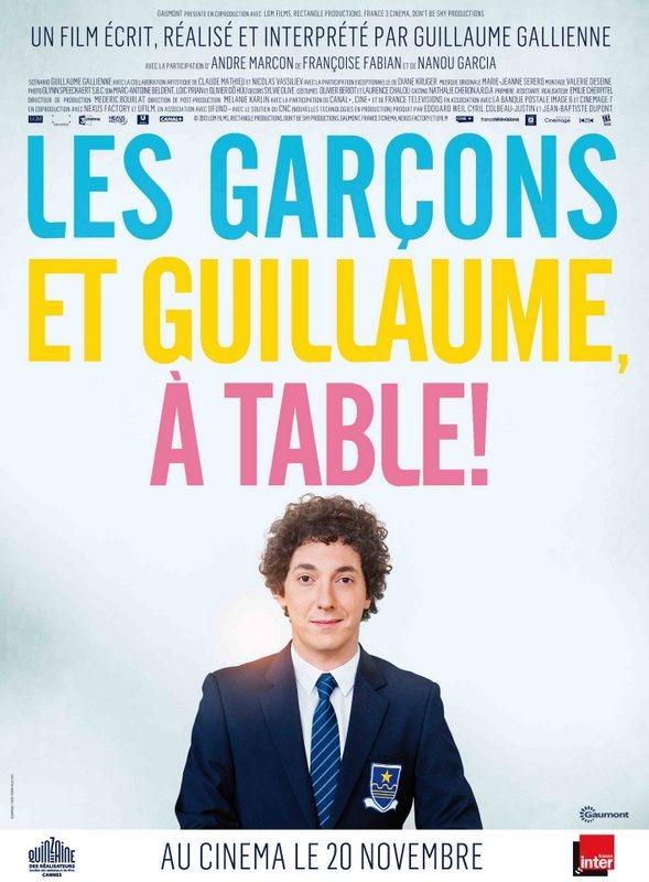 """Au cinéma : """"Les garçons et Guillaume, à table !"""""""