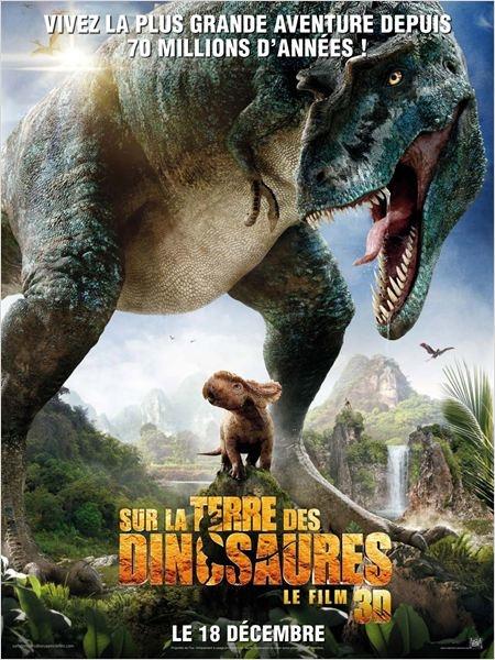 """""""Sur la terre des dinosaures"""" en 3D à la Géode"""