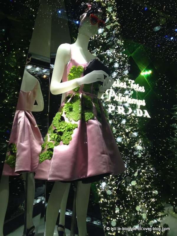 Noël 2013 : les vitrines du Printemps Haussmann
