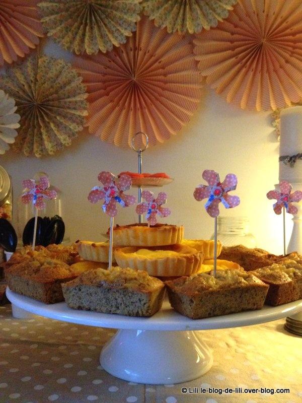 Le buffet d'anniversaire gourmand de Lily, 30 ans