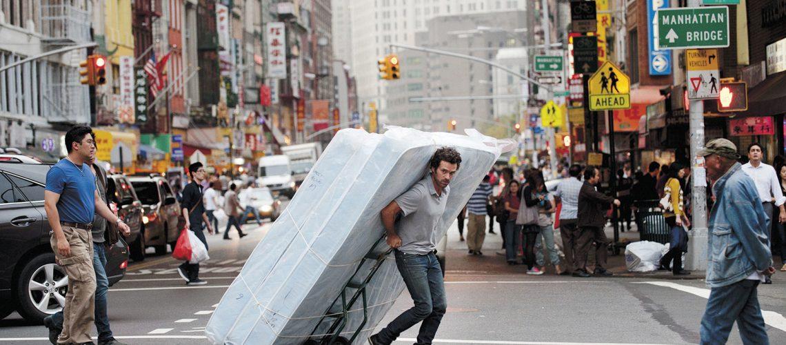 "Romain Duris à New York dans ""Casse-tête chinois"""