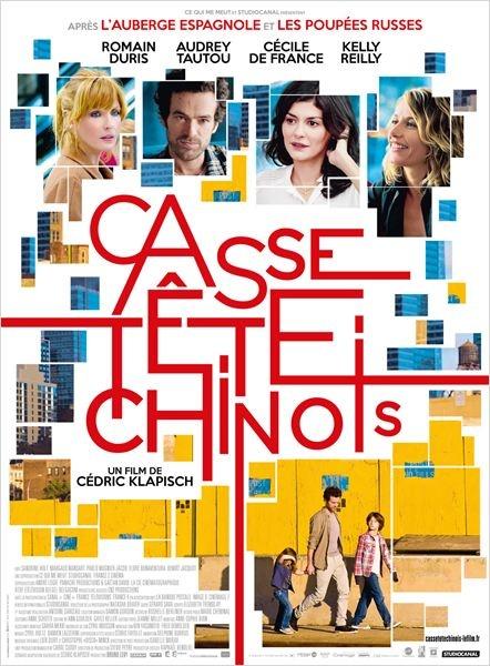 """""""Casse-tête chinois"""" ♥♥ Une chouette suite pour """"L'auberge espagnole"""" et """"Les poupées russes"""""""