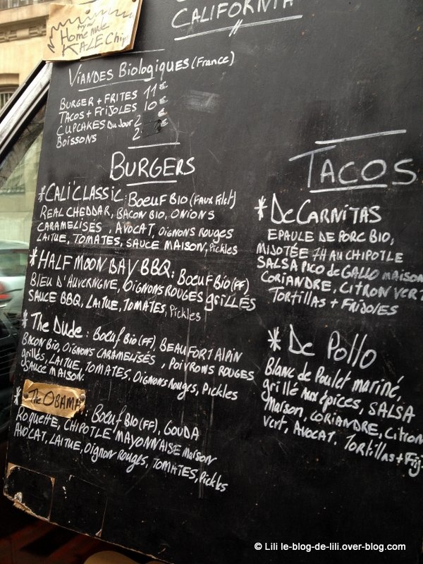 Foodtruck : j'ai enfin dégusté un burger Cantine California